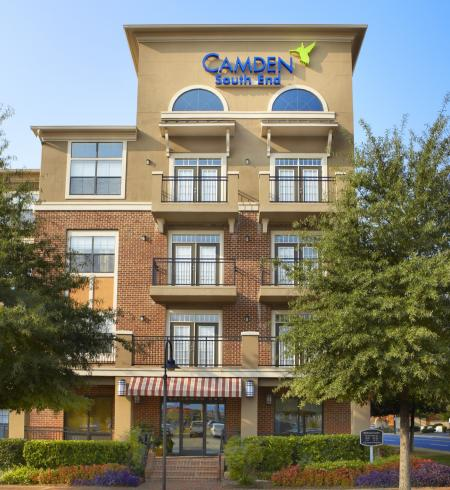 Camden South End Apartments in Charlotte, North Carolina