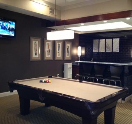 Camden Creekstone Apartments Billiards