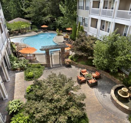Camden Creekstone Apartments Zen Garden
