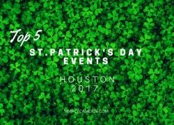 Houston Top 5 St. Patricks Day 2017 Events
