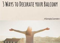 decorate your balcony