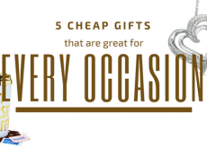 5 Cheap Gifts that are Great for Every Occasion
