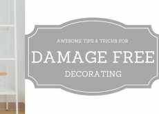 Awesome Tips and Tricks for Damage-Free Decorating
