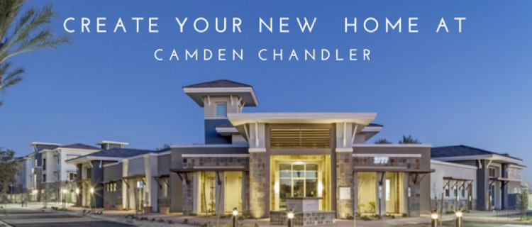 Your New Home at Camden Chandler